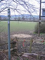 File:Public Footpath near Lodge Farm, Chirk - geograph.org.uk - 359864.jpg