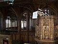 Pulpit, St Michael's Church, Dunchideock - geograph.org.uk - 1306539.jpg