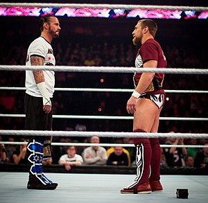 Elimination Chamber (2012) - CM Punk and Daniel Bryan  defended their respective titles of WWE Champion and World Heavyweight Champion in Elimination Chamber matches.