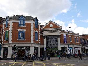 Putney Exchange - Putney Exchange shopping center.