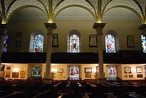 Cathedral of the Holy Trinity (Quebec) - Image: Québec Sainte Trinité 03