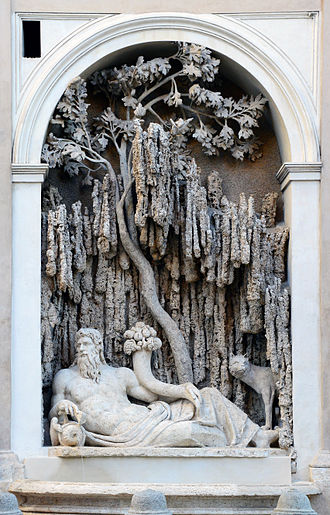 Quattro Fontane - Image: Quattro Fontane The River Tiber
