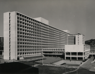 Architectural Services Department - Queen Elizabeth Hospital in 1969
