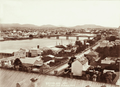 Queensland State Archives 2187 Brisbane from Parliament House towards Victoria Bridge 1898.png