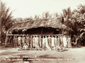 Queensland State Archives 2537 Wives and children of constabulary at Daru 1898.png