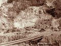 Queensland State Archives 5134 Cutting Mount Morgan c 1897.png