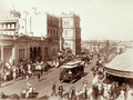 Queensland State Archives 5167 Tram and crowd scene in Queen Street near George Street Brisbane c 1899.png