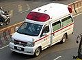 R&R Aviation Bangladesh Nissan Elgrand Paramedic (E50) Ambulance (26005205626).jpg