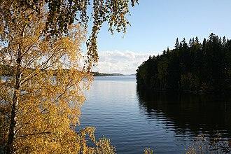 Rødenessjøen - Image: Rødnessjøen 2007 10 07