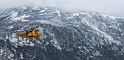 RAF Search and Rescue Helicopter in the Cairngorms MOD 45155350.jpg