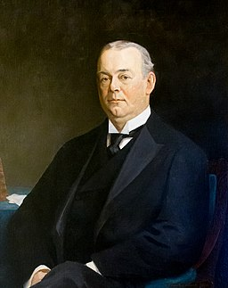 RI Governor George P Wetmore portrait