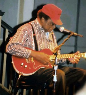 R. L. Burnside - Burnside performing at the Crystal Ballroom in Portland, Oregon, in January 2001