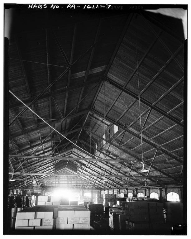 File roof trusses and clerestory philadelphia for Clerestory roof truss design