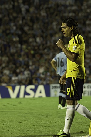 Colombia national football team - Radamel Falcao is Colombia's all-time top scorer with 28 goals.