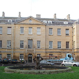 Radcliffe Infirmary - Image: Radcliffe Infirmary, Oxford geograph.org.uk 82358