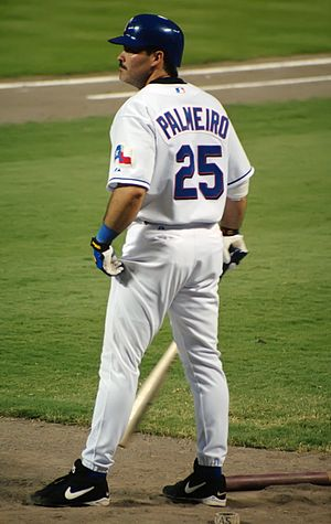 Rafael Palmeiro - Palmeiro with the Texas Rangers in 2003