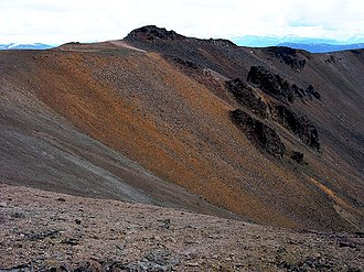 Rainbow Range (Chilcotin Plateau) - Image: Rainbow Range Colours