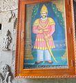Raja venktadri naidu.patriot at Mangalagiri temple main entrance..JPG