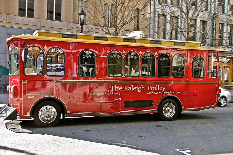 Raleigh-trolley