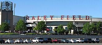 Raley Field - Image: Raley Field Sign May 2007