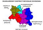 Rangareddy District Revenue divisions.png
