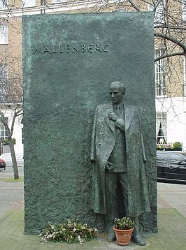 Raoul Wallenberg Monument in Londen