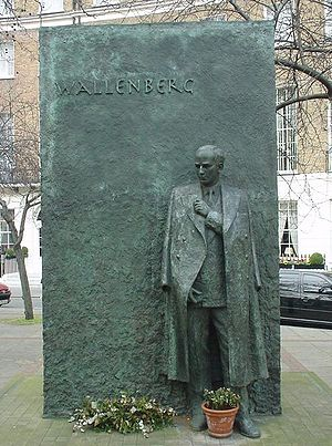 Philip Jackson (sculptor) - Image: Raoul Wallenberg memorial London