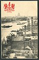 Raphael Tuck & Sons London Heraldic View Postcard Series 2174 THE RIVER & ST. PAUL'S FROM THE SHOT TOWER picture side.jpg