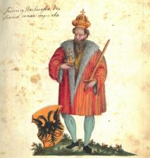 Rauchbeinchronik Kaiser Friedrich I. Barbarossa.png