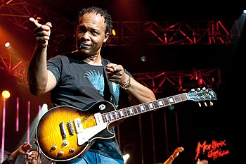 English: Ray Parker Jr. live at the Montreux J...