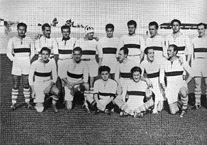 Real Madrid Rugby - The team that won the Copa del Rey in 1934