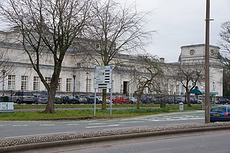 Cardiff Crown Court - The rear of Cardiff Crown Court