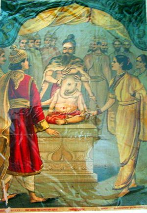 Mythological anecdotes of Ganesha - Ganesh Elephant Head