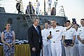 Reception with Ambassador Pyatt Aboard USS ROSS, July 24, 2016 (28505362481).jpg