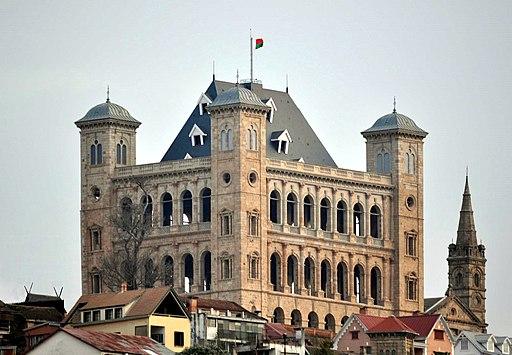 Reconstructed Rova Antananarivo Madagascar