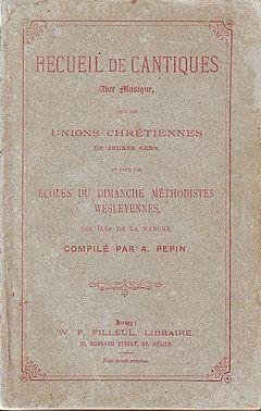 Recueil de Cantiques 1889