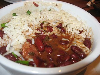 Rice and beans - Red beans and rice