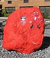 Red rock at St Johns University.jpg