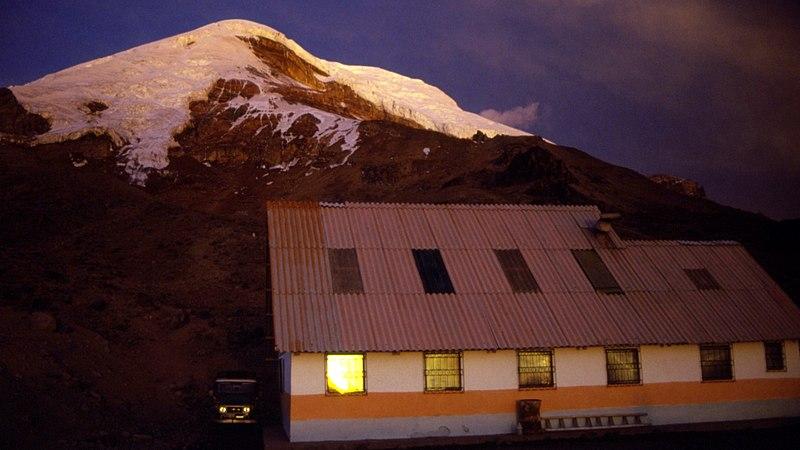 El Refugio Carrel al pie del Chimborazo