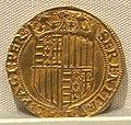 Regno di napoli, ferdinando I, oro, 1458-1494, 02.JPG
