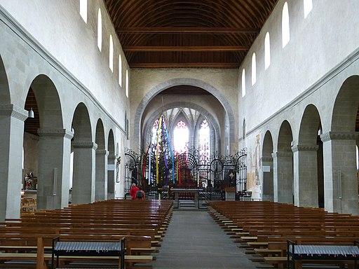 Reichenau Münster - Innenraum (UNESCO-Weltkulturerbe Klosterinsel Reichenau)