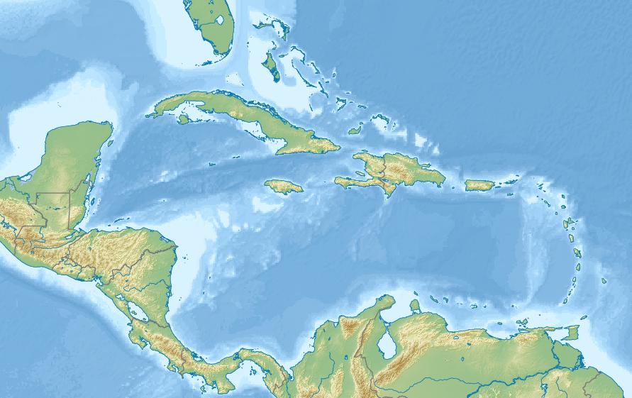 Navassa Island is located in Caribbean