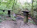 Remains of railway bridge - geograph.org.uk - 1935088.jpg