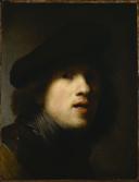 Rembrandt - Clowes self-portrait, 1629.png