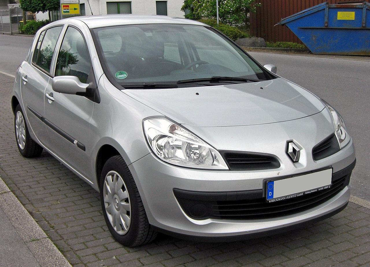 Renault Clio pięciodrzwiowy (2005-2009)
