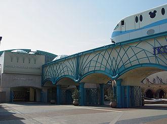 Disney Resort Line - Resort Gateway Station