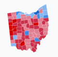 Results of the 2018 Senate election in Ohio.png