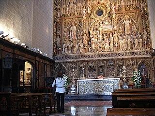 Major altar piece of La Seo of Zaragoza