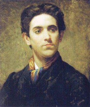 Daniel Zuloaga - Daniel Zuloaga; portrait by Ignacio Suárez Llanos (1830-1881)