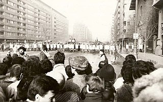 Romanian Revolution period of violent civil unrest in Romania in December 1989